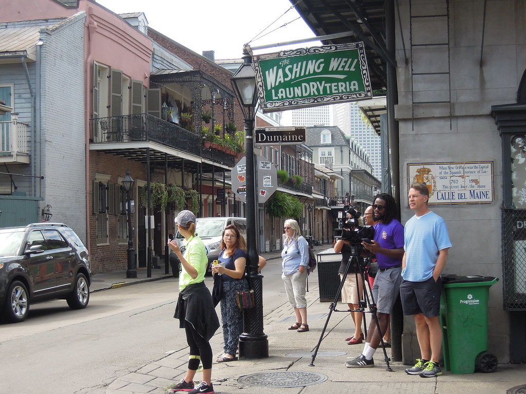 Filming in New Orleans